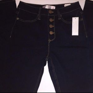 No Boundaries Skinny Jeans Juniors Button Fly